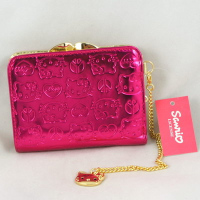 Roze hello Kitty portemonee